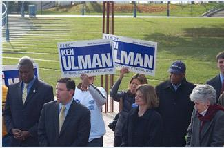Ulman Nov 3 '06 press conference